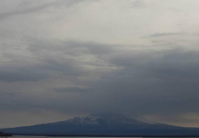 вулкан Шивелуч. Петропавловск-Камчатский (Россия)