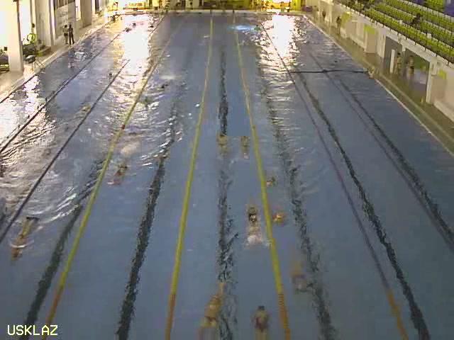 бассейн, спорткомплекс Лазурный. Кемерово (Россия)