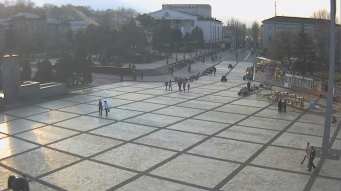 площадь Ленина. Керчь (Россия)