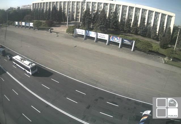 площадь Национального собрания. Кишинев (Молдавия)