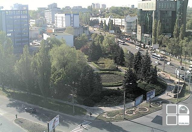 ул. Крянгэ. Кишинев (Молдавия)