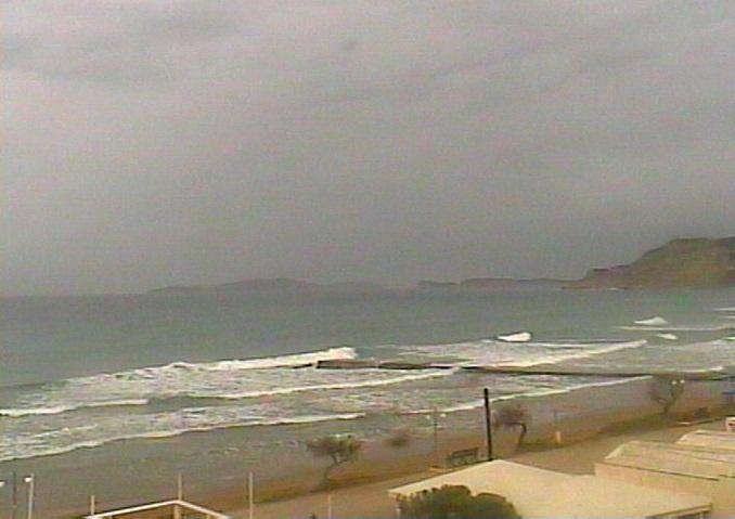 пляж, отель Horizon 3*. Корфу (Греция)