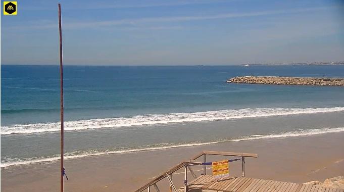 пляж. Кошта да Капарика (Португалия)
