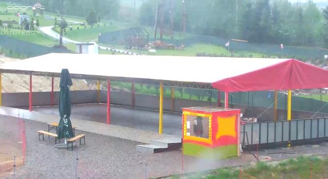 парк. Крайно (Польша)