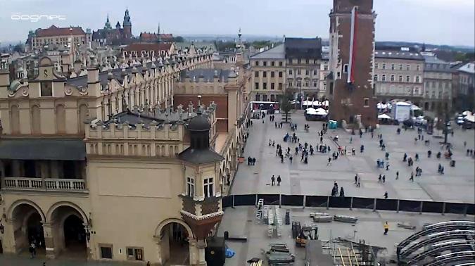 Рыночная площадь. Краков (Польша)