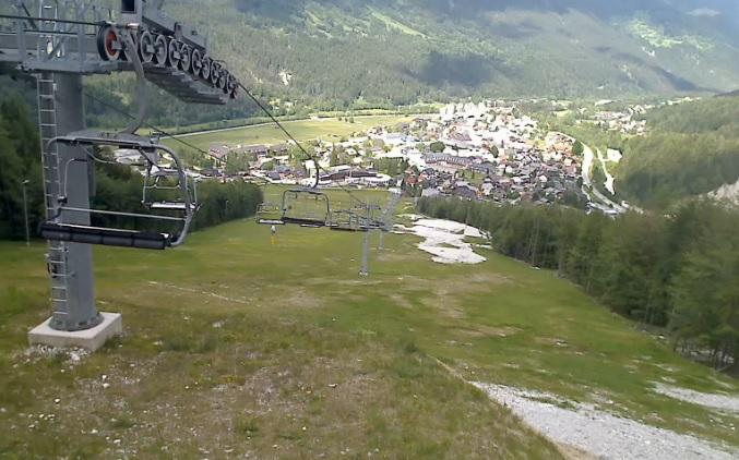 горнолыжный курорт Краньска-Гора (Словения)