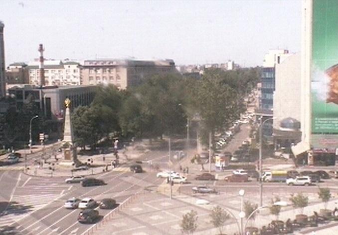 Театральная площадь. Краснодар (Россия)