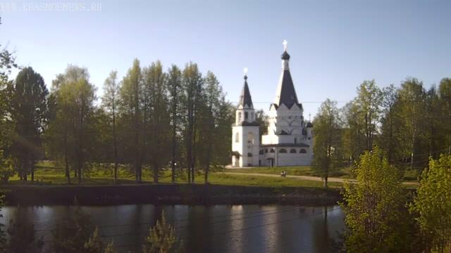 Храм Богоявления Господня. Красное-на-Волге (Россия)