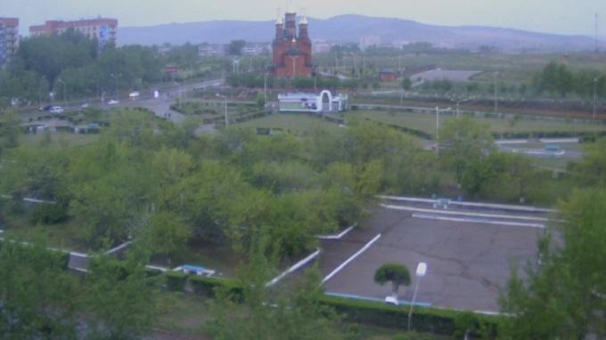 парк Покровского. Краснокаменск (Россия)
