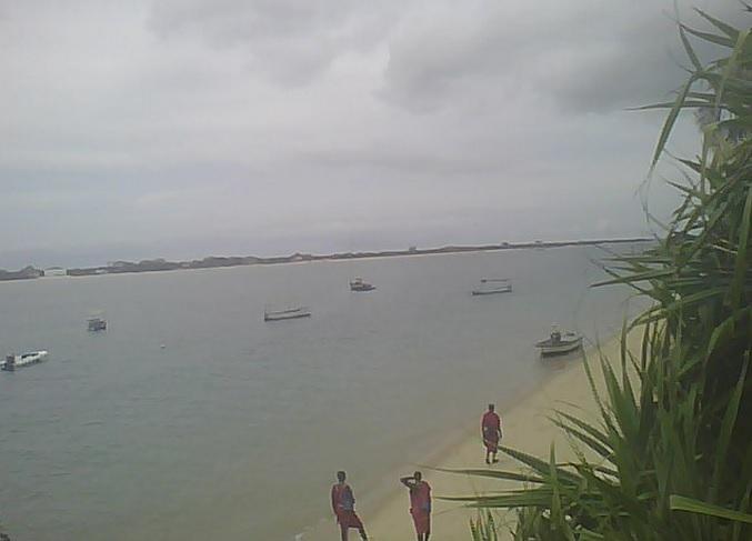 побережье острова Ламу. Кения (Восточная Африка)