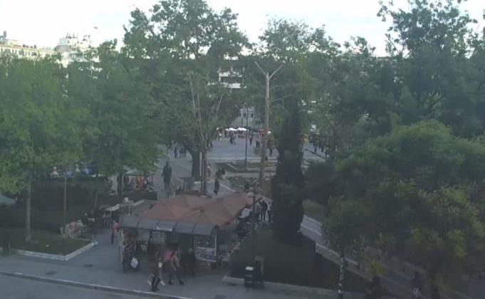центральная площадь. Лариса (Греция)