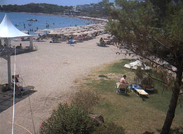 пляж. Вульягмени (Греция)