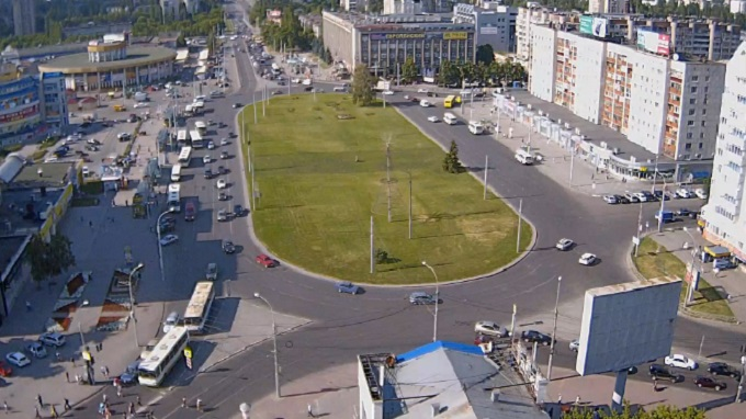 Площадь Победы. Липецк (Россия)
