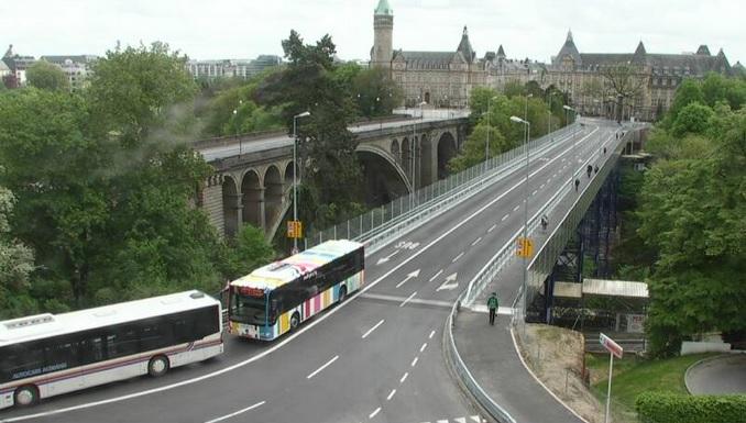 мост Адольфа. Люксембург