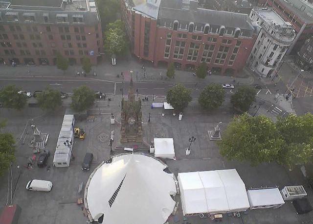 площадь Альберта. Манчестер (Великобритания)