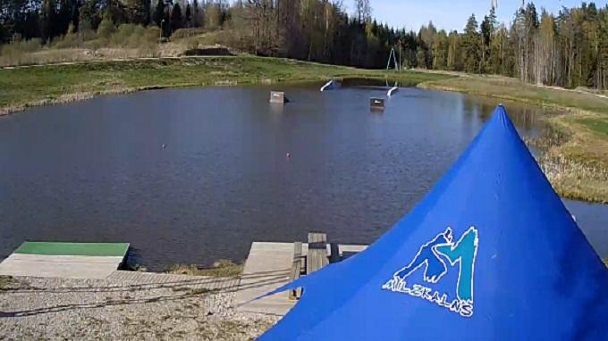 горнолыжный курорт Милзкалнс (Латвия)