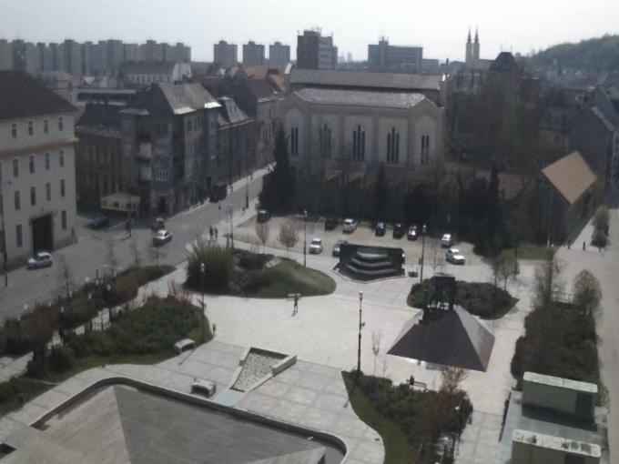 площадь. Мишкольц (Венгрия)