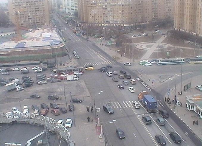 пл. Абельмановская застава. Москва (Россия)