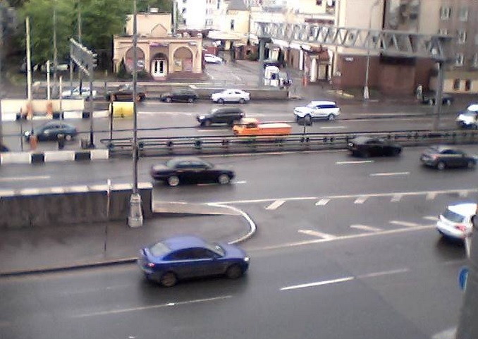 Спартаковская площадь. Москва (Россия)