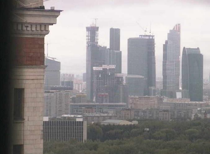 Воробьевы горы, МГУ. Москва (Россия)