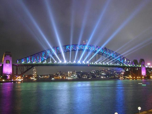 мост Харбор-Бридж. Сидней (Австралия)