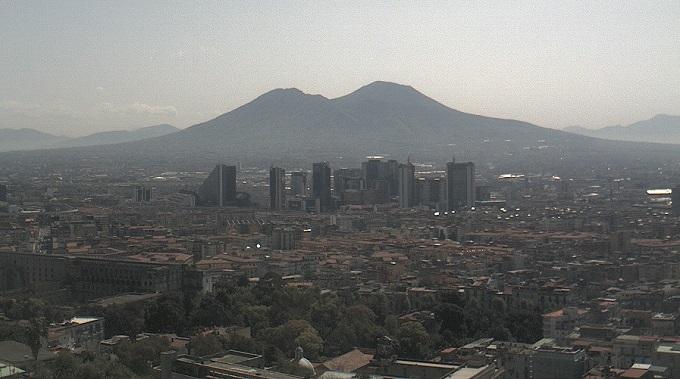 Вулкан Везувий. Неаполь (Италия)