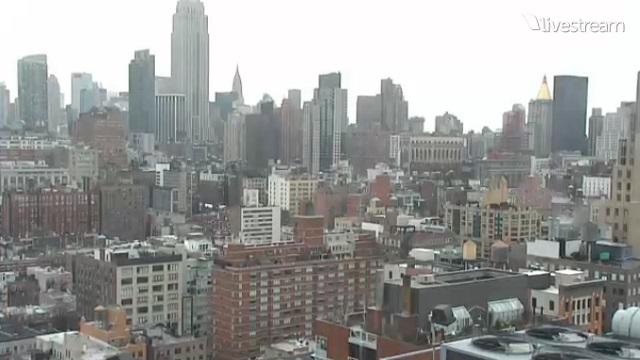 панорама. Нью-Йорк (США)