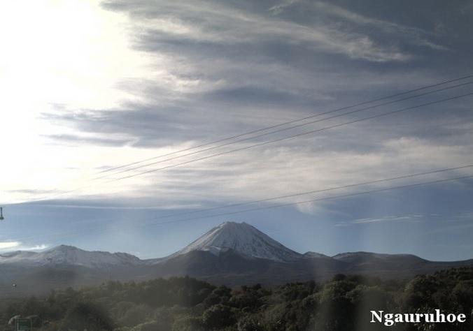 вулкан Нгаурухоэ (Новая Зеландия)