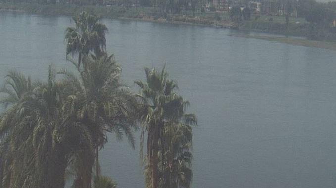 Река Нил. Луксор (Египет)