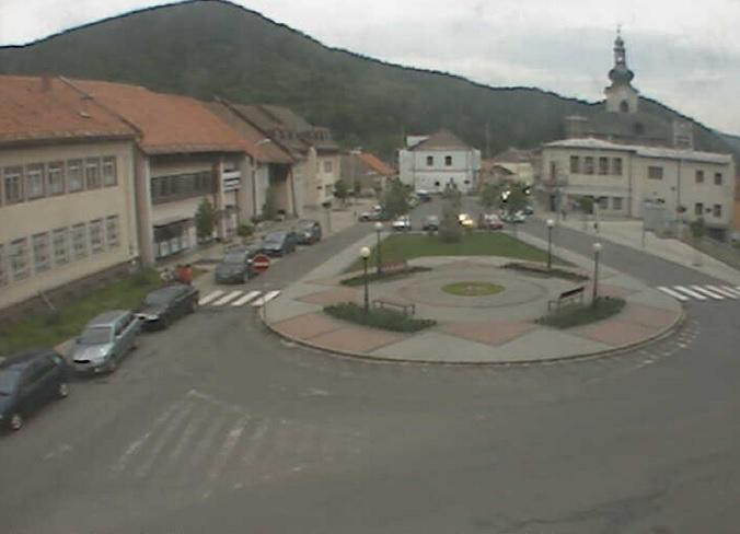 пл. Свободы. Нова Баня (Словакия)