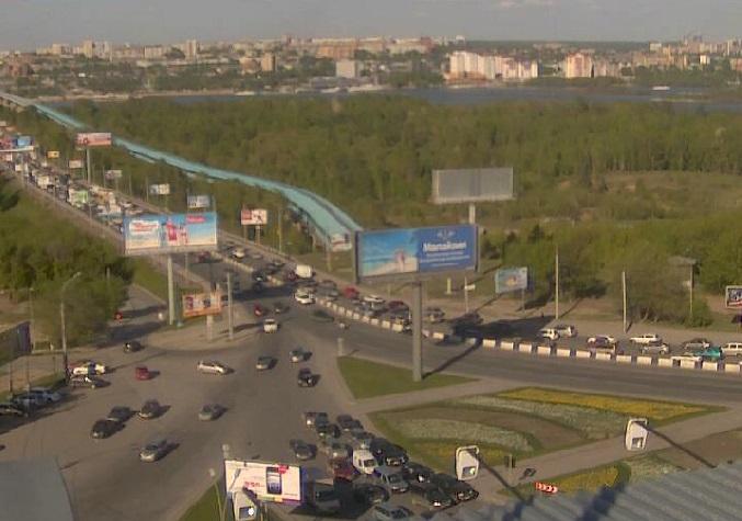 Коммунальный мост. Новосибирск (Россия)