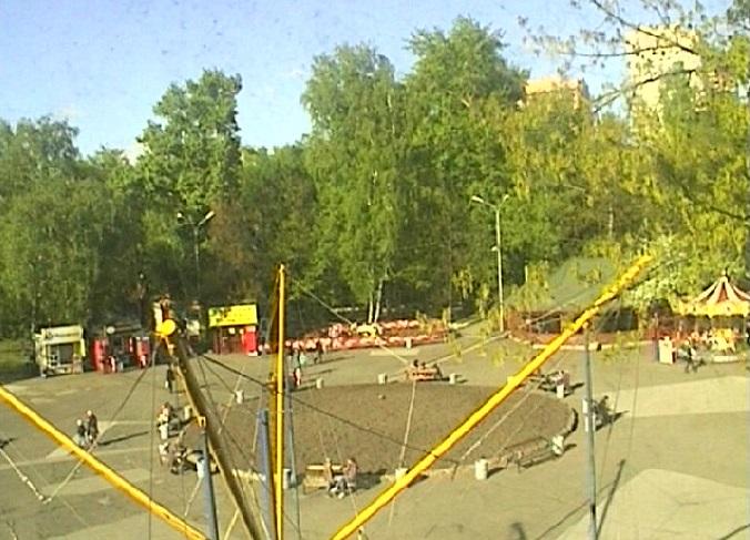 центральный парк. Новосибирск (Россия)