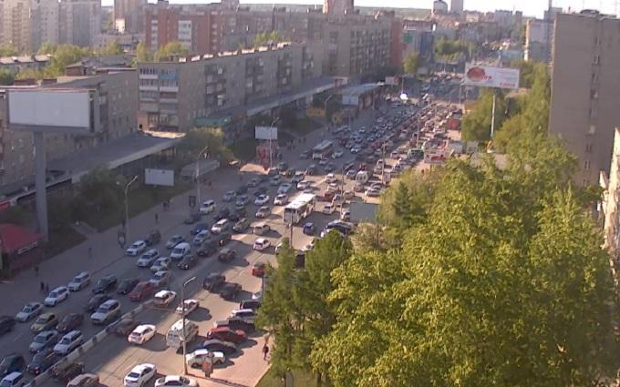 метро Гагаринская. Новосибирск (Россия)