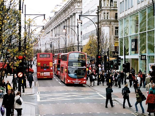 Оксфорд-стрит. Лондон (Велкобритания)