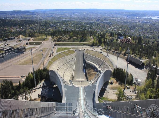 Лыжный трамплин. Хольменколлен, Осло (Норвегия)