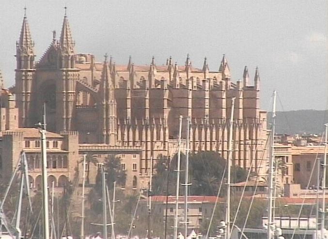 собор Санта-Мария (Ла Сеу). Пальма-де-Мальорка (Испания)