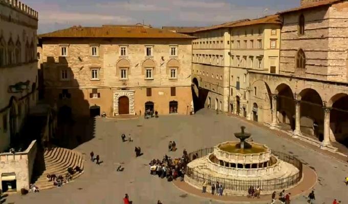 фонтан Маджоре. Перуджа (Италия)