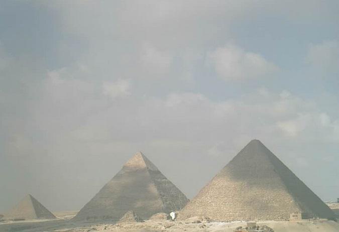пирамиды Гизы. Каир (Египет)