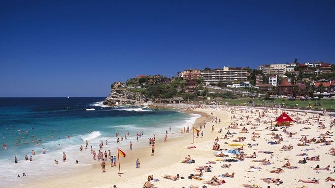пляж Бонди. Сидней (Австралия)