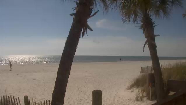 пляж Schooners. Панама-Сити, Флорида (США)
