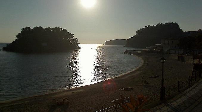пляж. Парга (Греция)