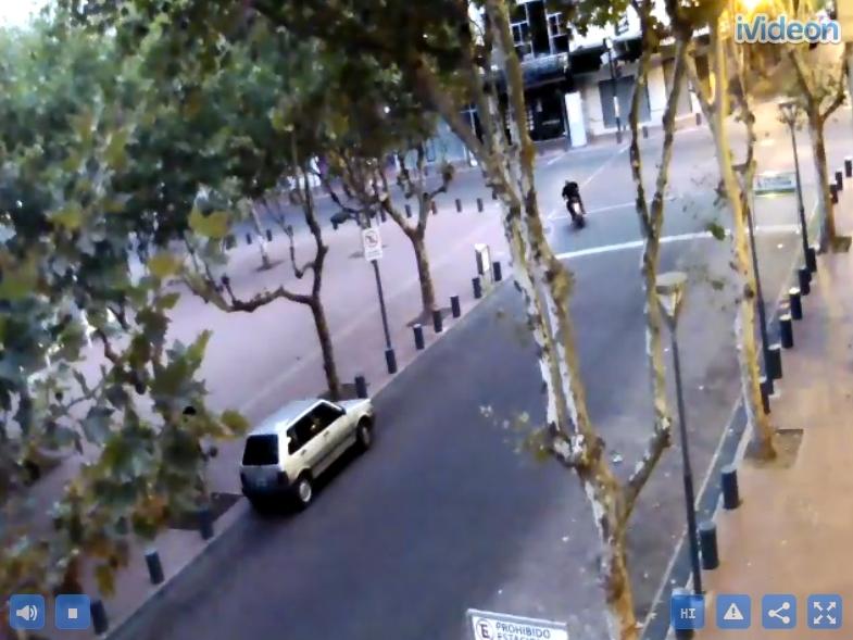 Cквер Plaza Mitre. Буэнос Айрос (Аргентина)