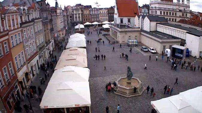 площадь Stary Rynek. Познань (Польша)