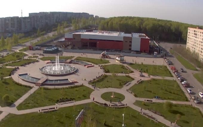 фонтан. Прокопьевск (Россия)