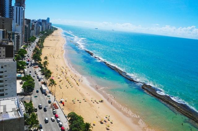 побережье. Ресифи (Бразилия)