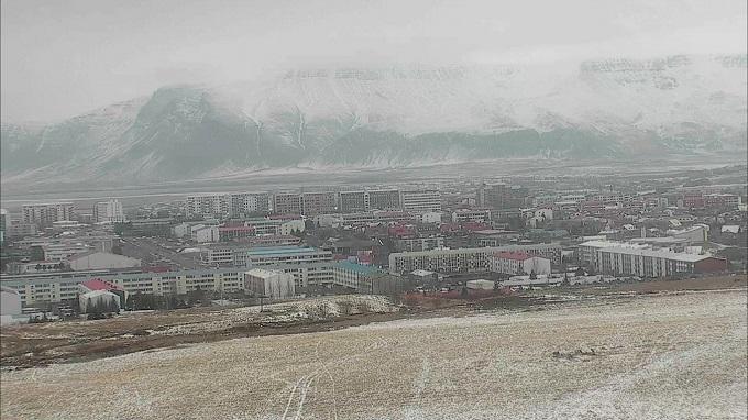 панорама. Рейкьявик (Исландия)