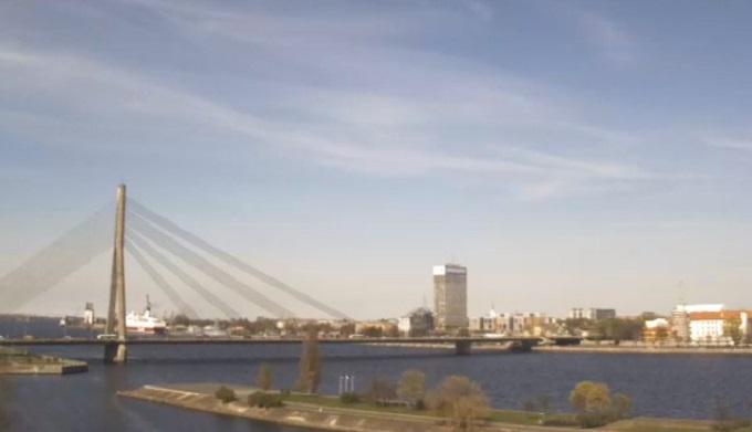 Вантовый мост. Рига (Латвия)