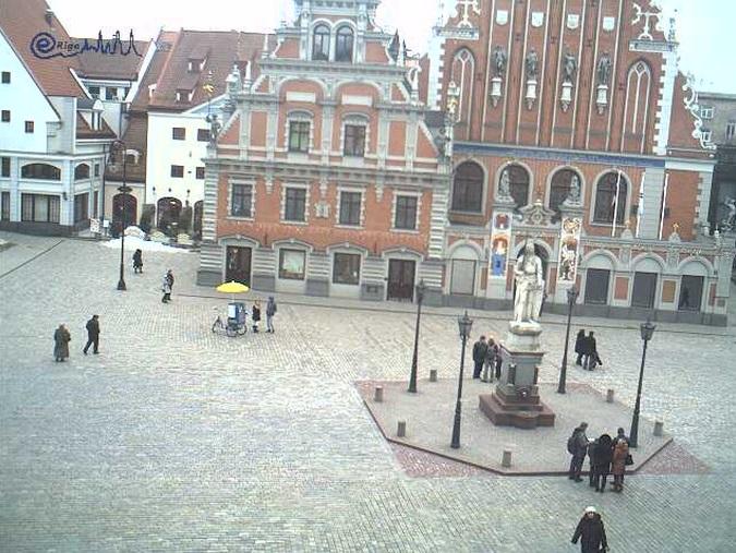 Ратушная площадь. Рига (Латвия)