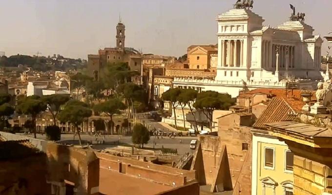 Капитолийский холм. Рим (Италия)