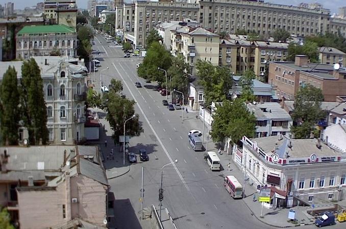 Ворошиловский проспект. Ростов-на-Дону (Россия)